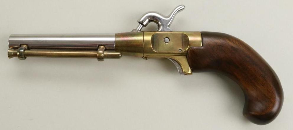 Le « New Orleans Ace » constitue la réplique d'un pistolet monocoup.