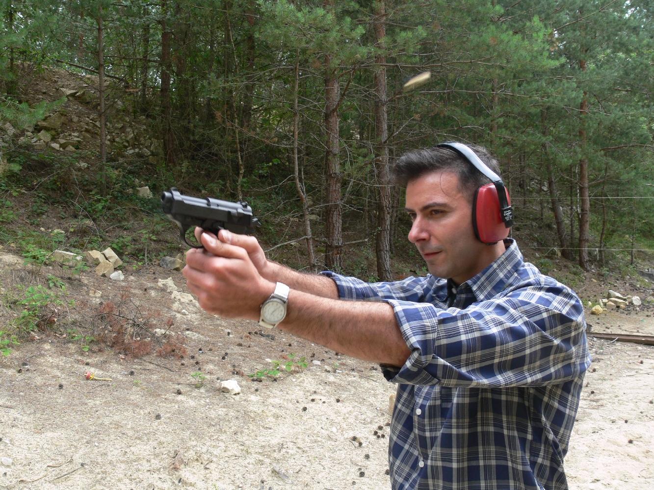 Le P38-K pointe vers la cible de façon naturelle et son relèvement est facile à maîtriser.