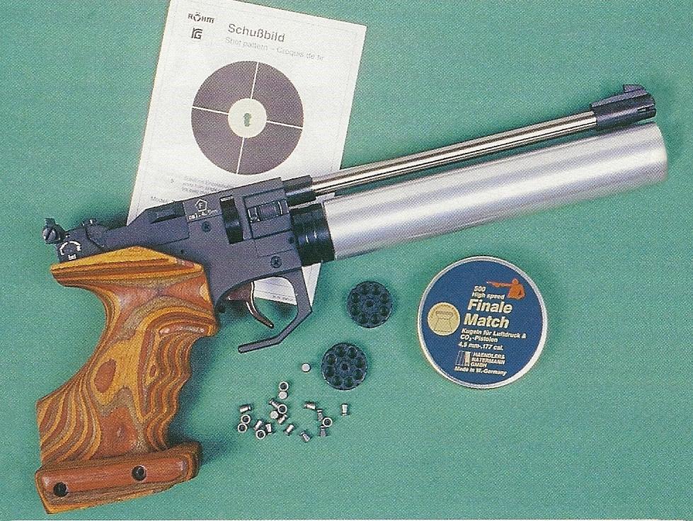 essai armes pistolet air comprim et co2 r hm twinmaster top calibre 4 5 mm diabolo. Black Bedroom Furniture Sets. Home Design Ideas