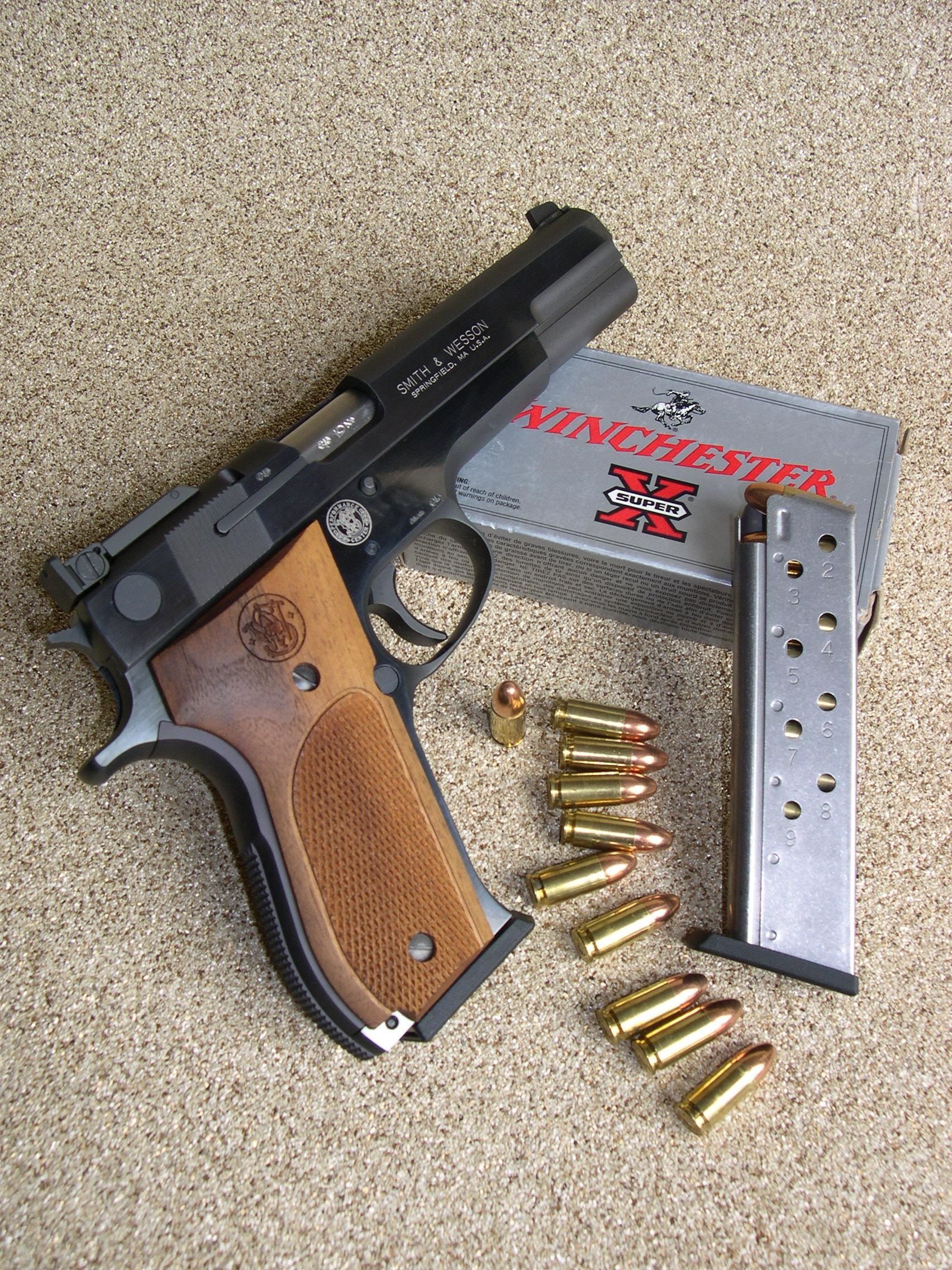 Essai armes pistolet smith wesson mod le 952 performance center calibre 9 mm parabellum - Arme occasion particulier ...