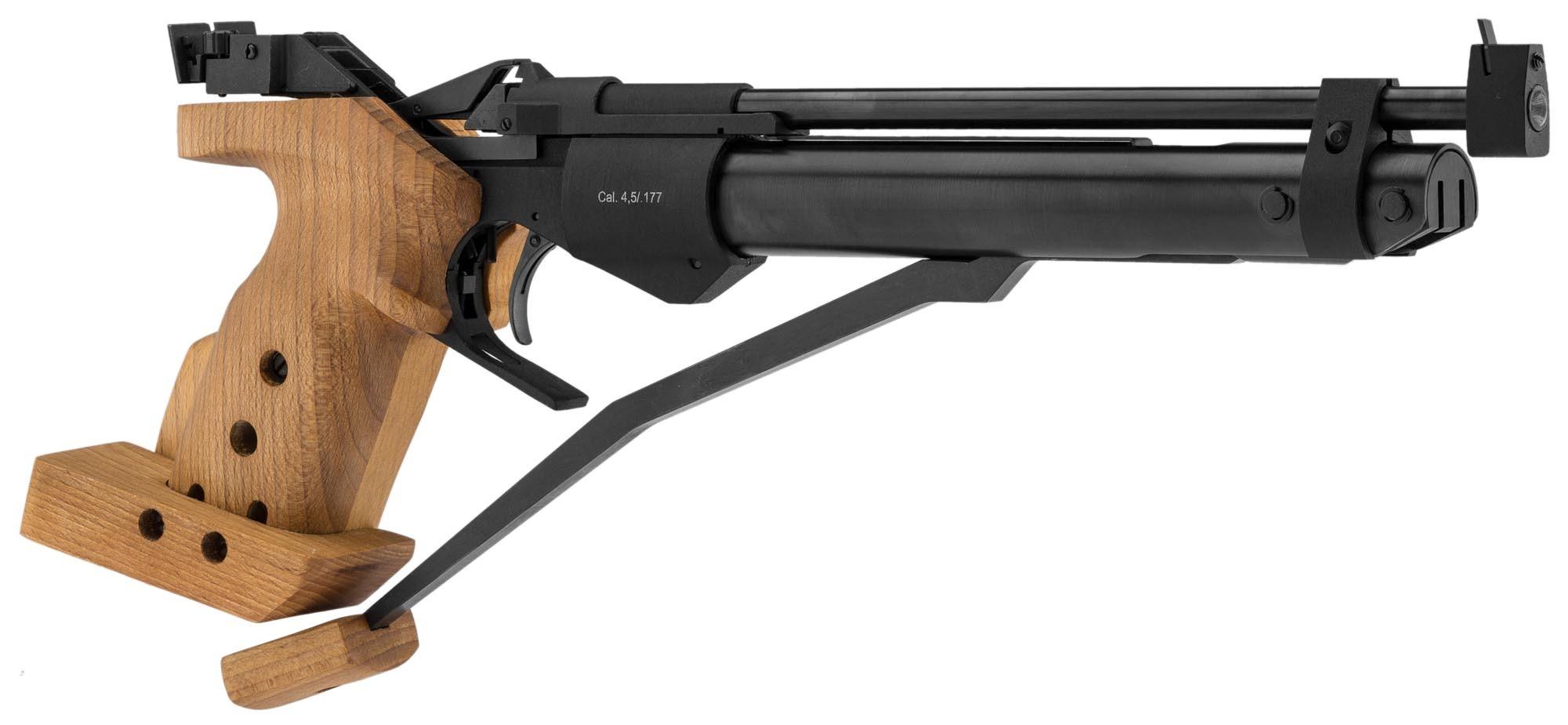 Pistolet à air comprimé Baïkal MP-46M calibre 4,5 mm Diabolo