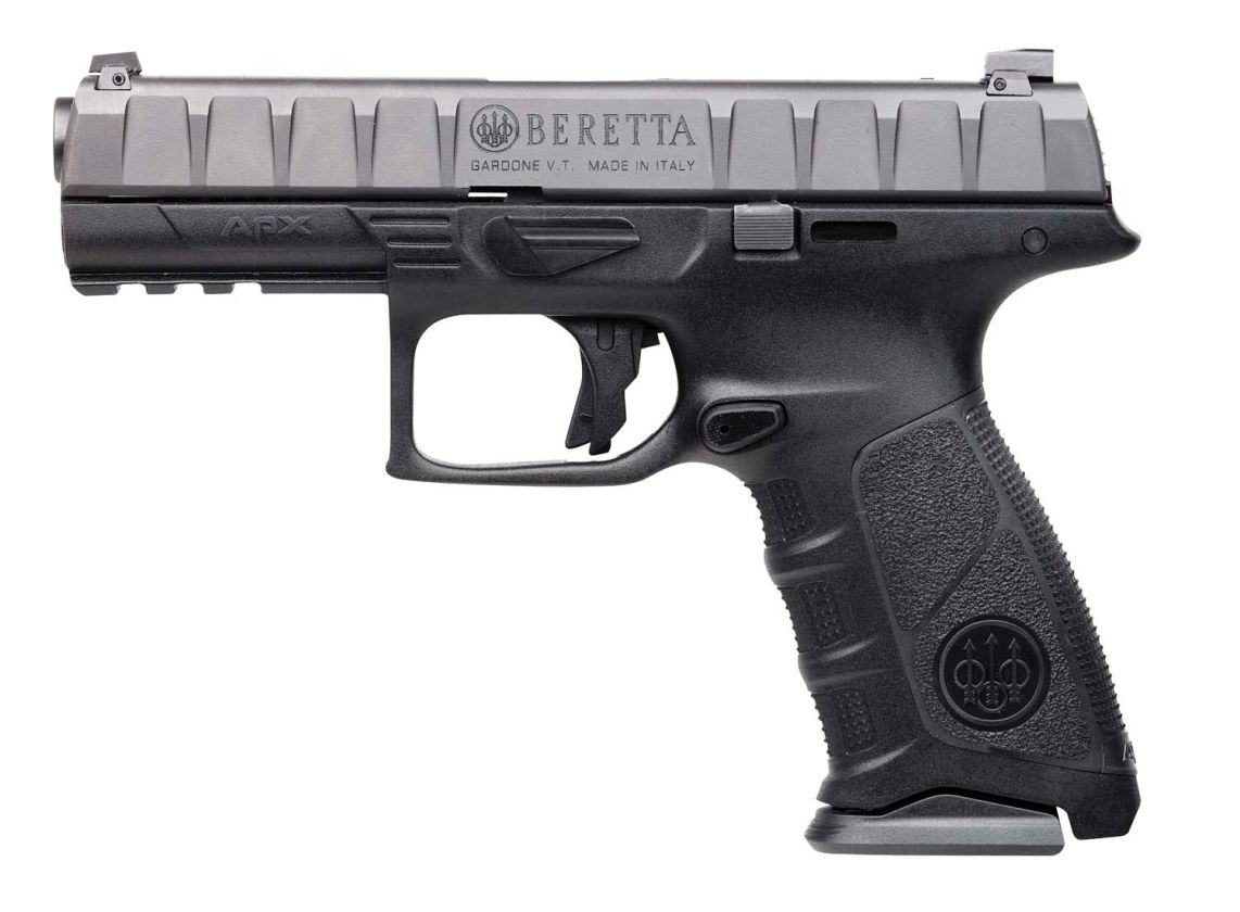 Beretta-APX-9x19mm-semi-automatic-pistol