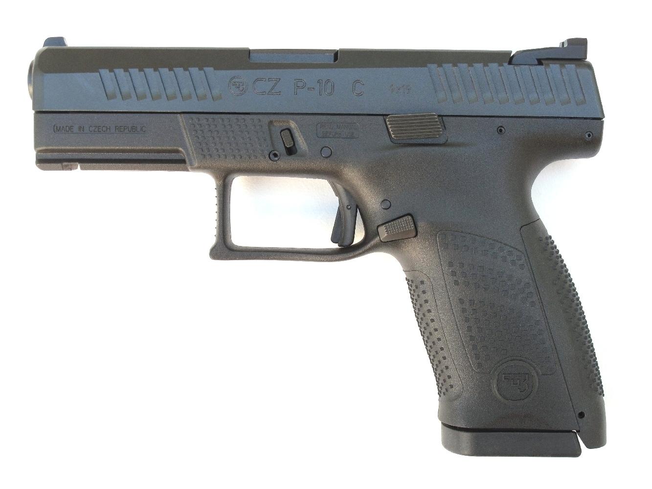 Pistolet semi-automatique CZ P-10 C en calibre 9 mm Parabellum