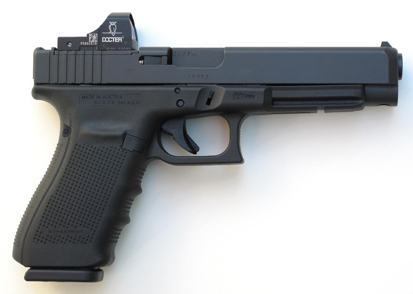Glock 41 « MOS » avec viseur Docter