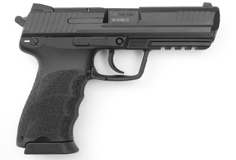 Pistolet Heckler & Koch HK 45 calibre .45 ACP.