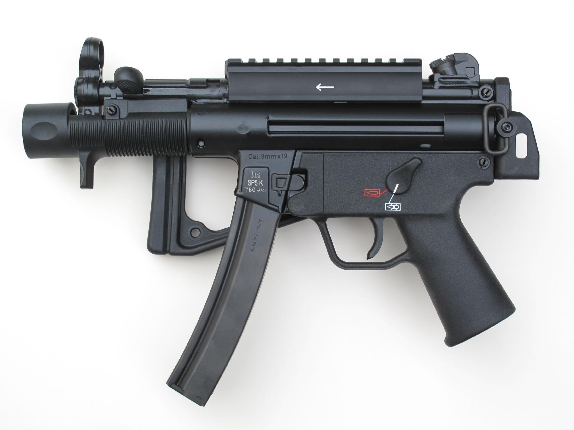 Pistolet HK SP5 K en calibre 9 mm Parabellum