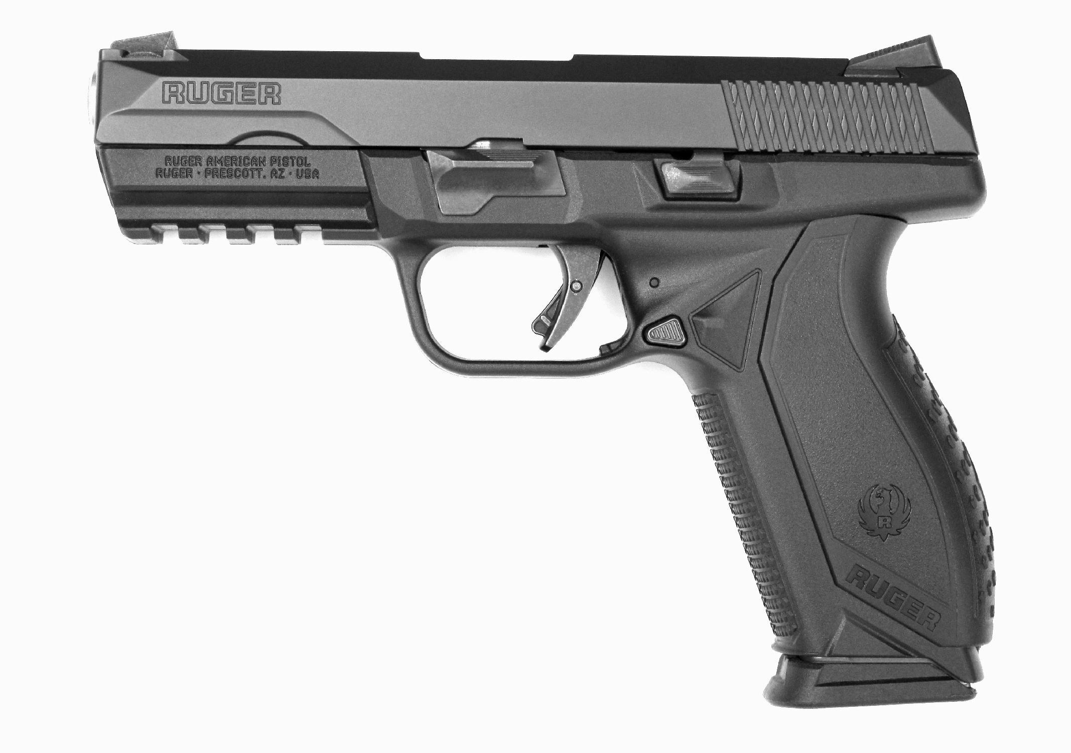 Ruger American Pistol en calibre 9 x 19 mm
