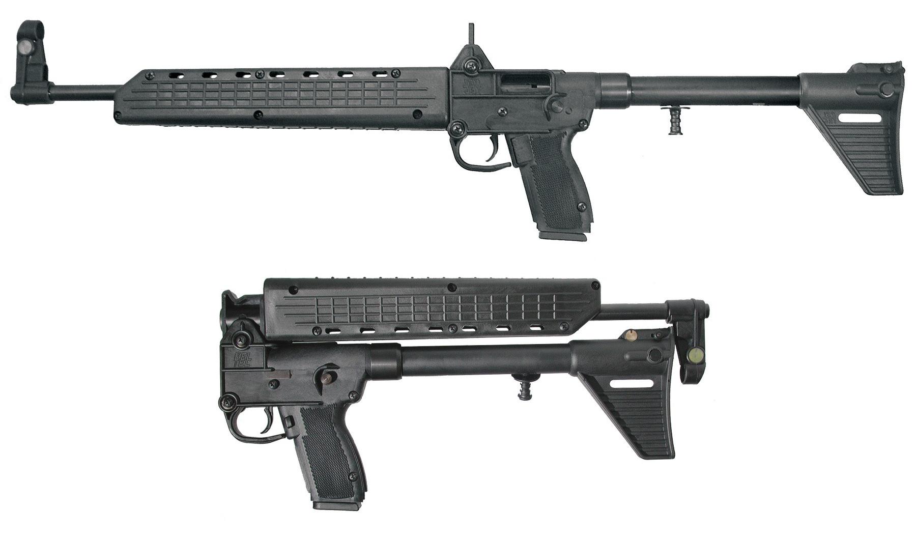 Carabine semi-automatique Kel-Tec SUB-2000 en calibre 9 mm Parabellum