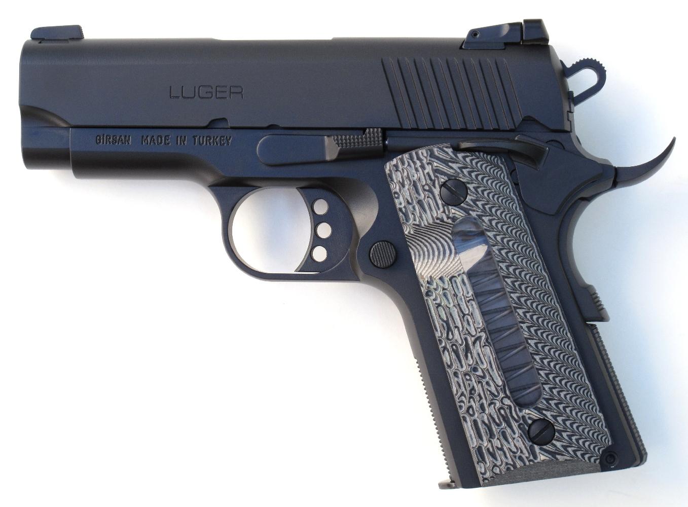 Pistolet Luger MC 1911 SC en calibre .45 ACP