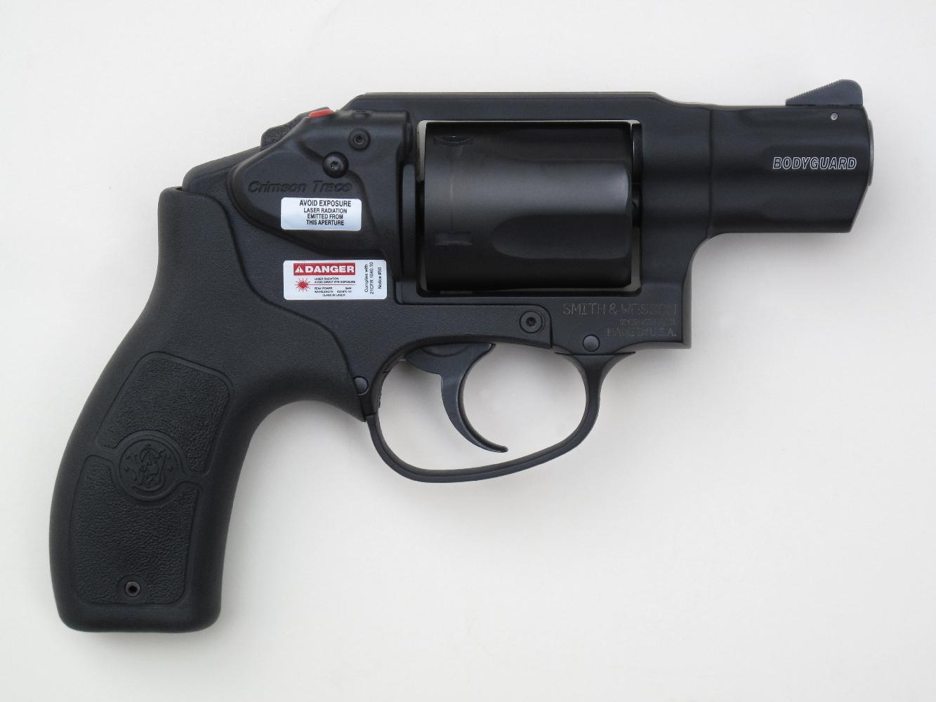 Revolver S&W M&P « Bodyguard » en calibre .38 Special +P