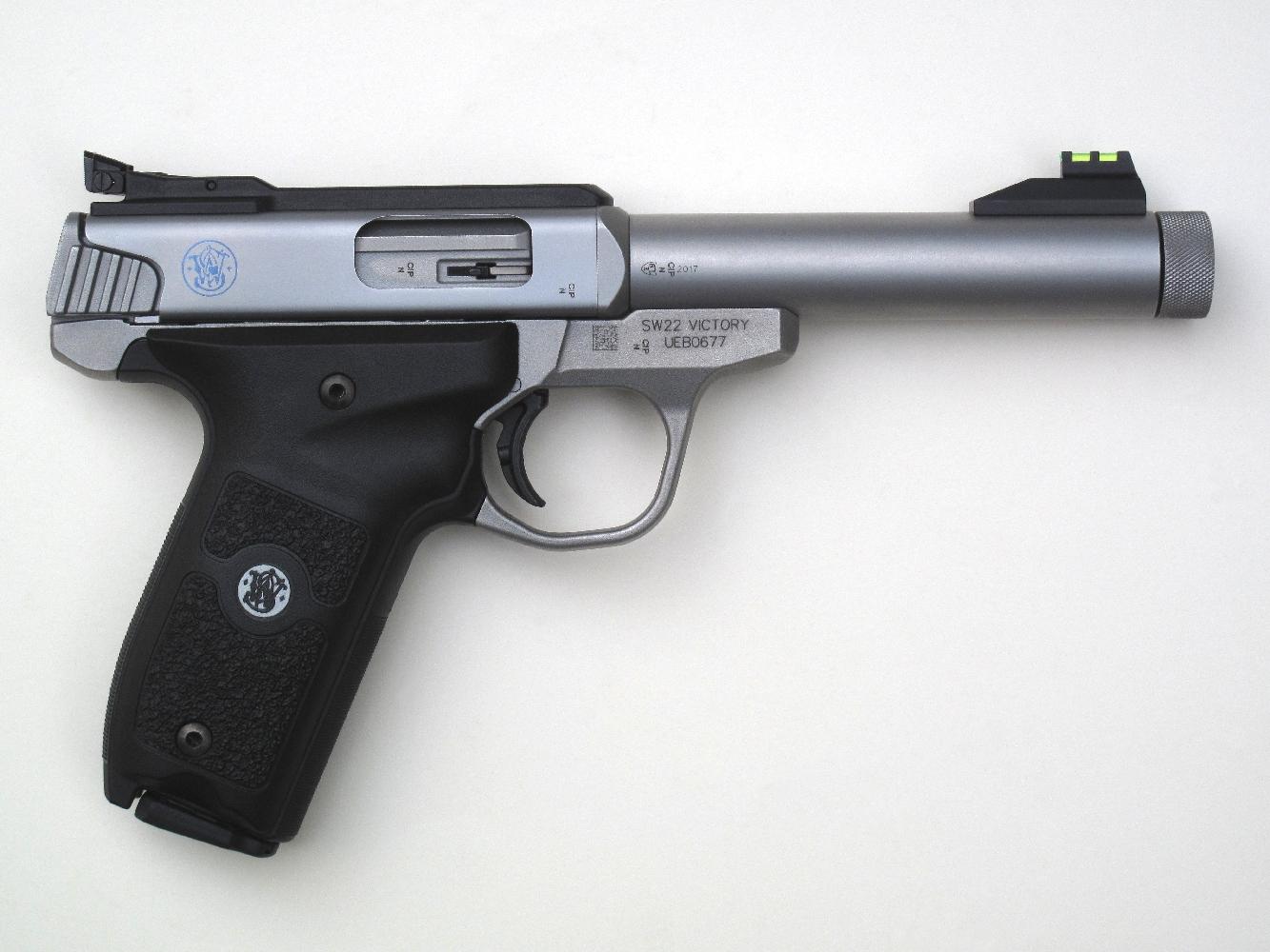 Pistolet S&W modèle SW22 « Victory », calibre .22 Long Rifle