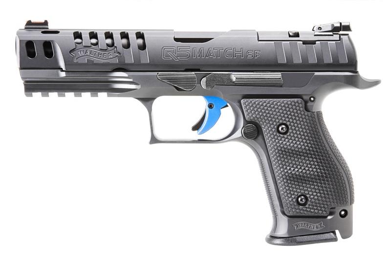 Pistolet semi-automatique Walther modèle Q5 Match SF de calibre 9mm Parabellum