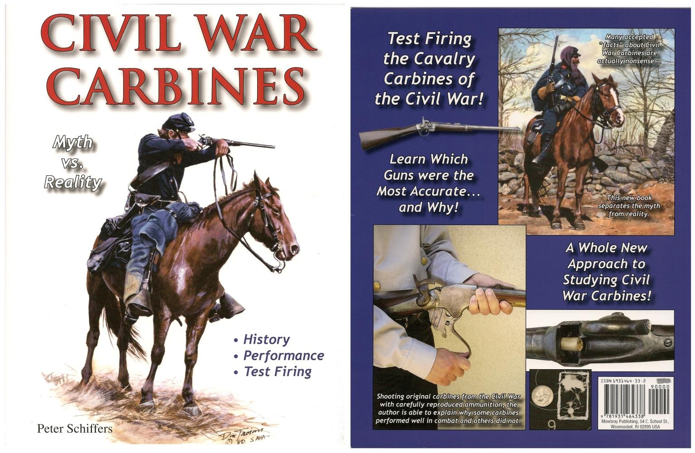 Ce livre de 144 pages présente une étude détaillée et un banc d'essai réaliste des principales carabines utilisées durant la Guerre de Sécession : Burnside, Gallager, Spencer, Sharps 1863, Smith, Starr, Maynard, Merrill, Joslyn…