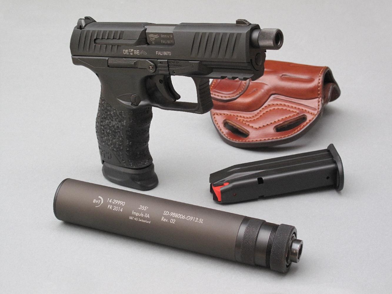 S'il conserve globalement la silhouette du modèle P99, le Walther PPQ ne s'en démarque pas moins par un grand nombre de modifications destinées à simplifier et améliorer son utilisation.