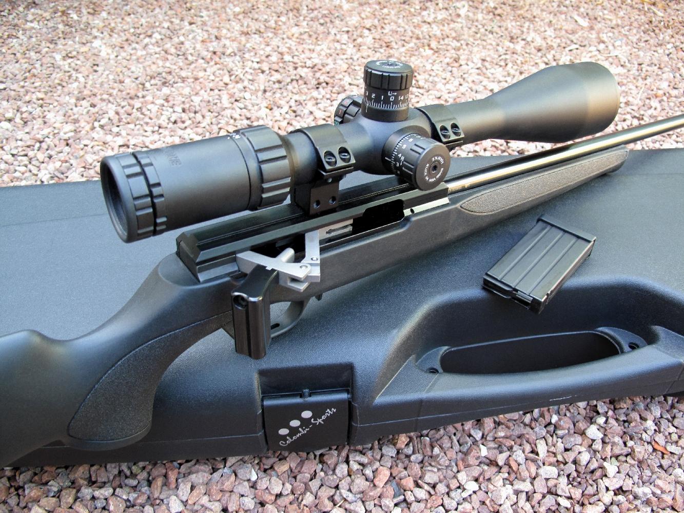 Essai armes carabine issc spa calibre 17 hmr for Salon armes