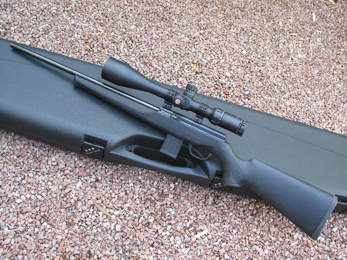 La carabine ISSC SPA est un modèle à percussion annulaire alimenté par un chargeur de 9 coups et actionné au moyen d'une culasse à mouvement linéaire.