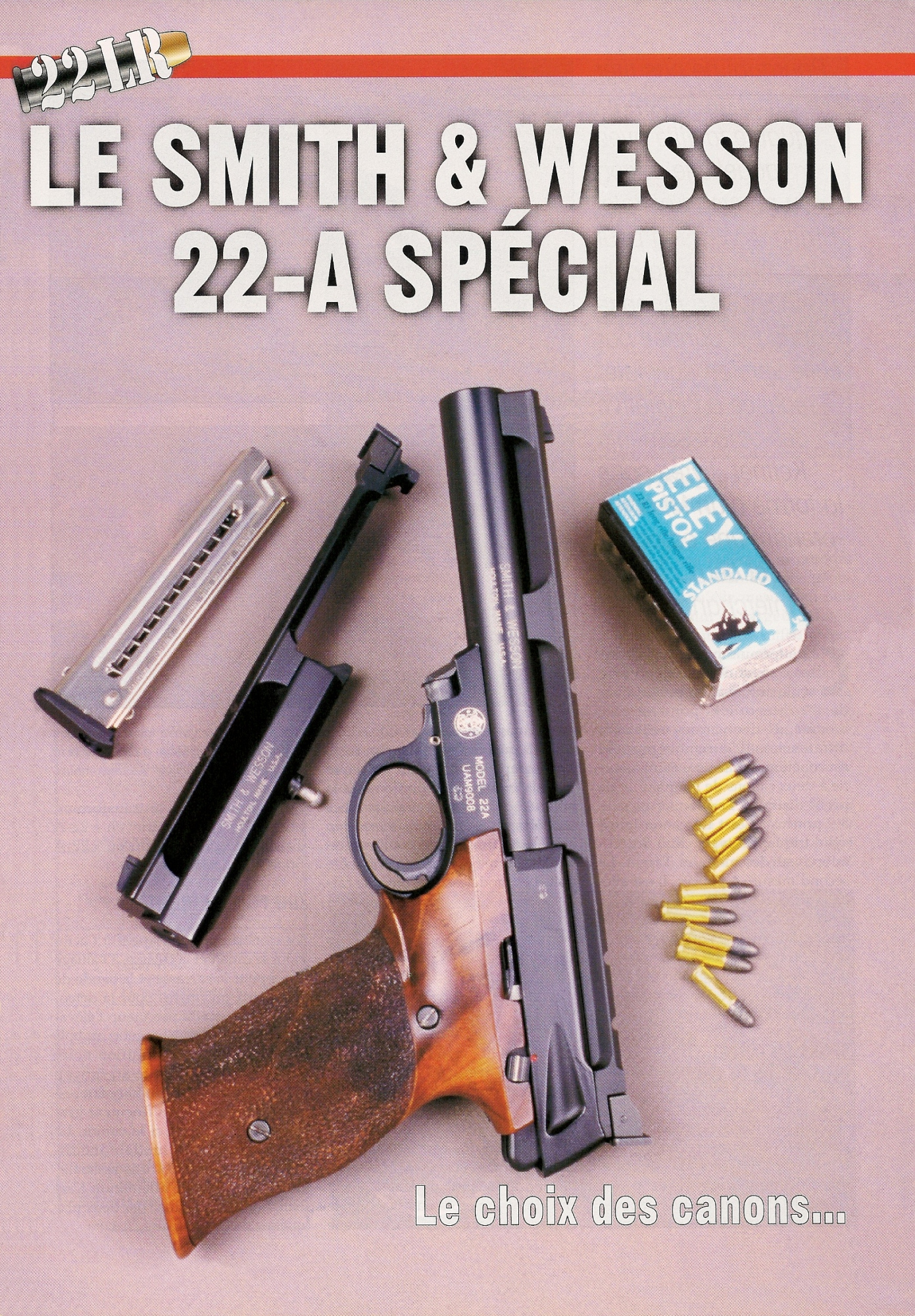 Le Smith & Wesson Special se présente comme un pistolet sportif multi-configuration, livré avec deux canons instantanément interchangeables, de taille et de profil distincts.