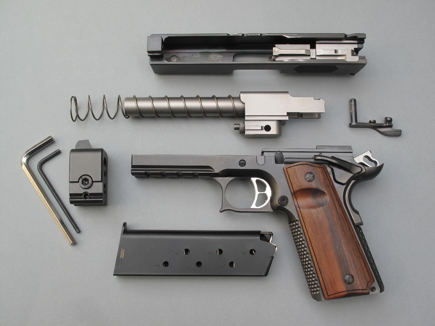 essai armes pistolet korth prs 1911 5 pouces calibre 45 acp. Black Bedroom Furniture Sets. Home Design Ideas