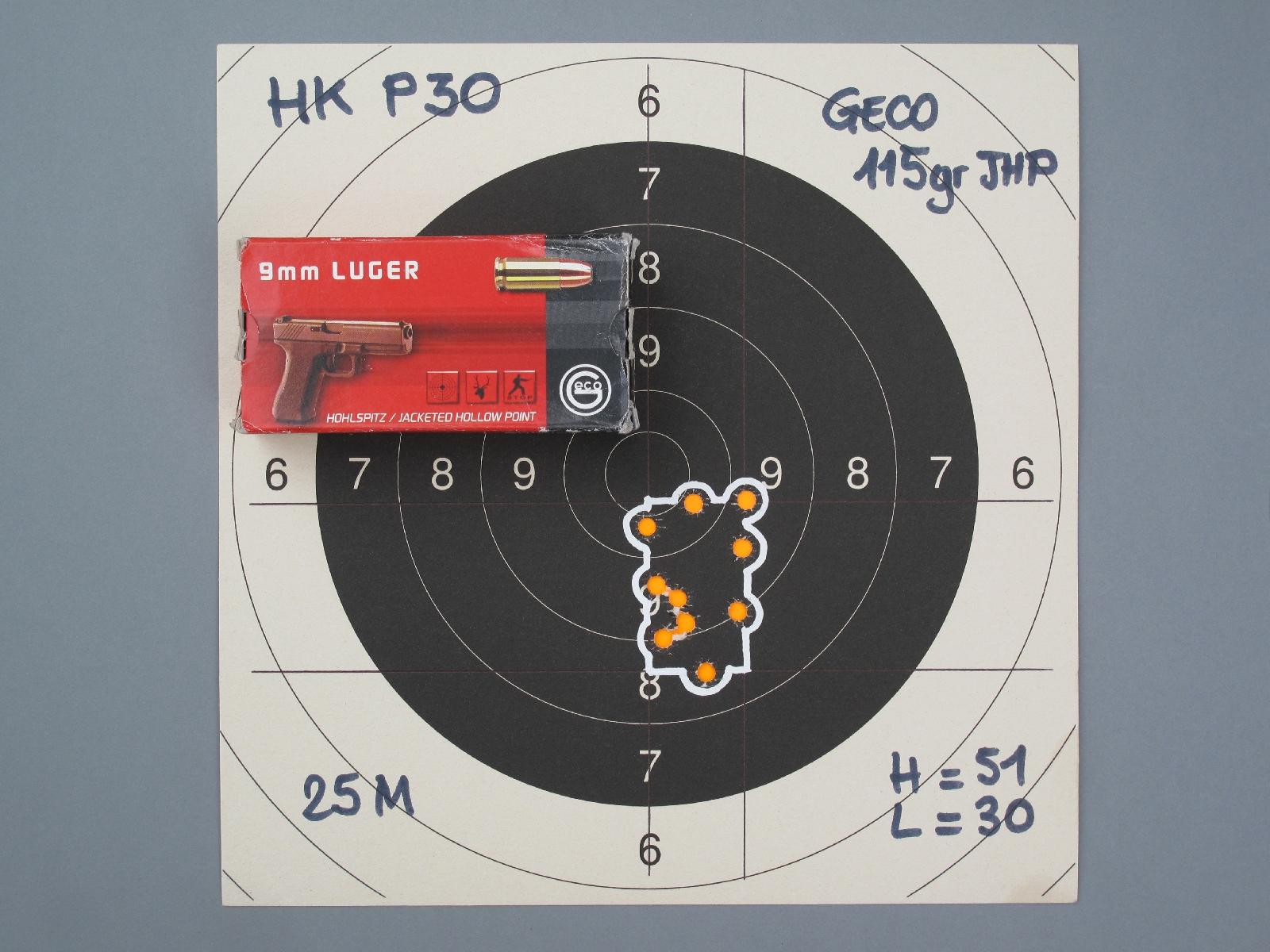 Malgré la longueur réduite de son canon, ce pistolet de combat compact et léger procure, à la distance de 25 mètres, une précision en cible supérieure à bon nombre de ses concurrents.