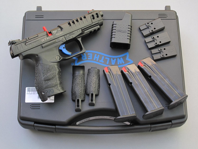 Walther Q5 Match sur sa boîte_petite