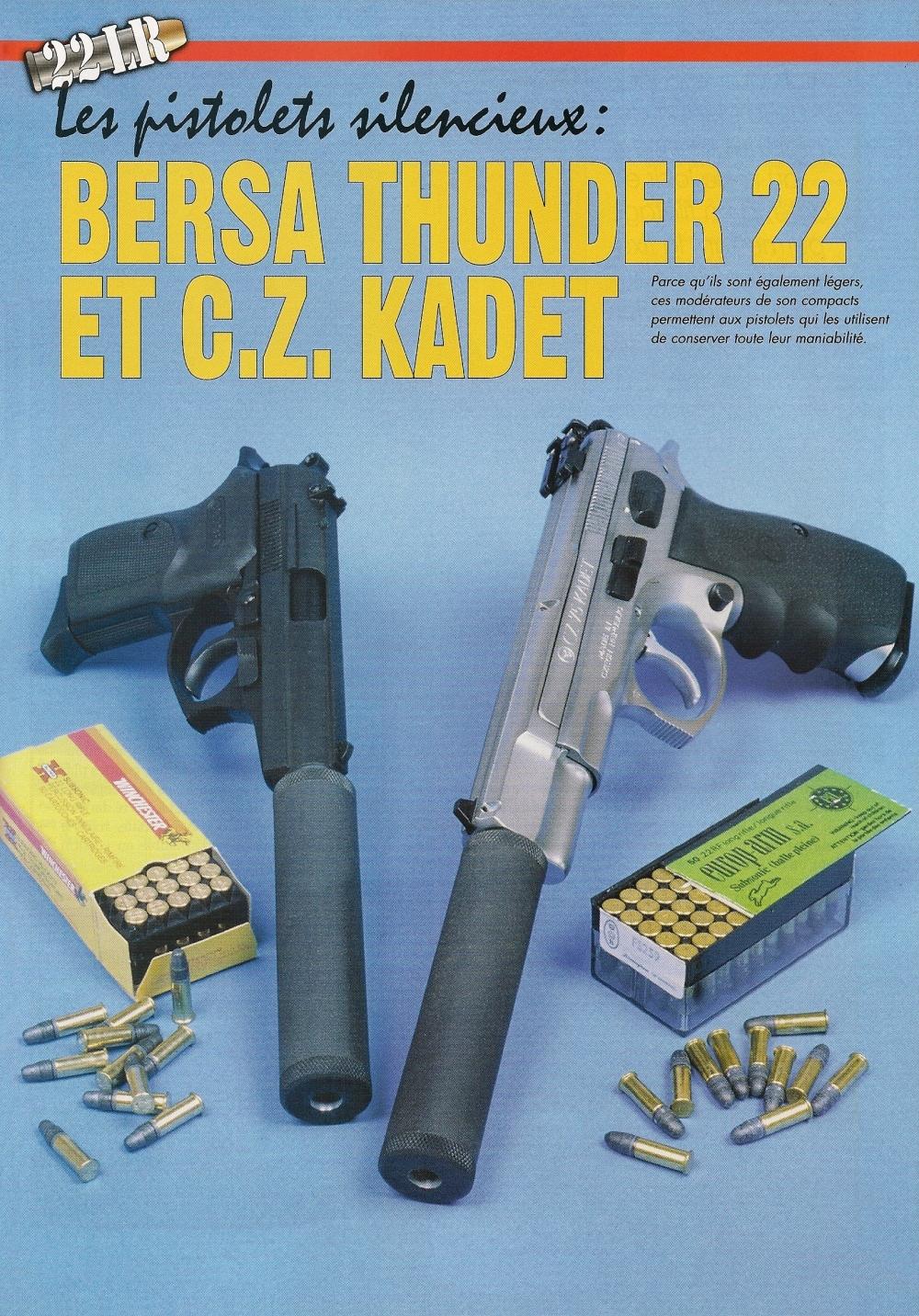 Grâce à leur légèreté, ces modérateurs de son compacts permettent aux pistolets qui les utilisent de conserver toute leur maniabilité.