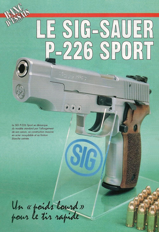 Sig P-226 Sport ouverture_petite