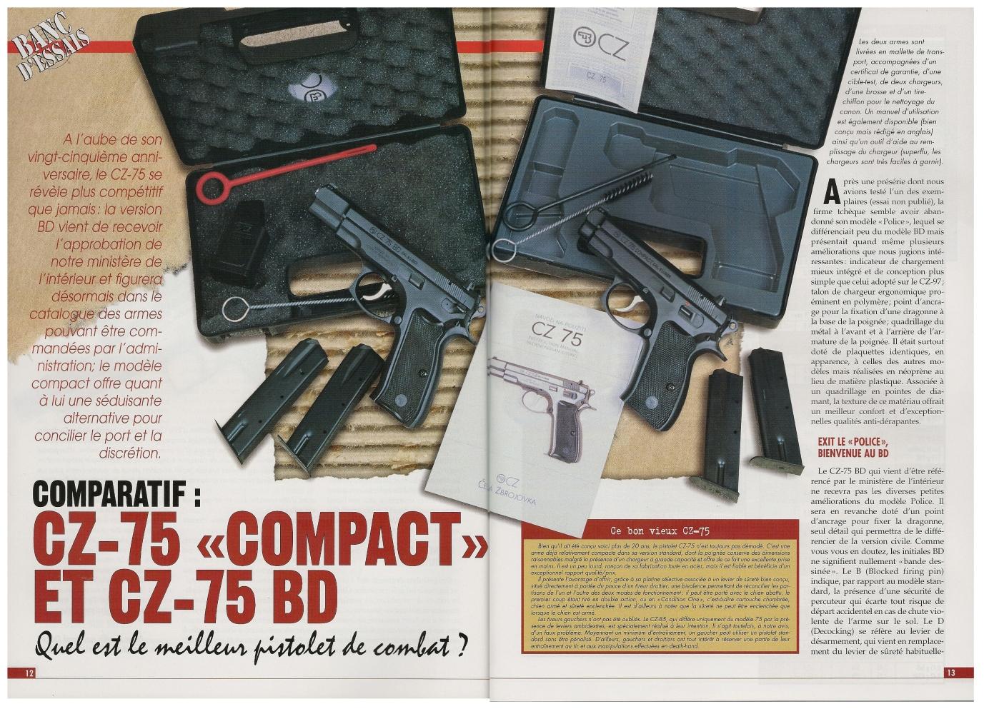 Action Guns n°222_CZ-75 Compact vs CZ-75 BD_petite