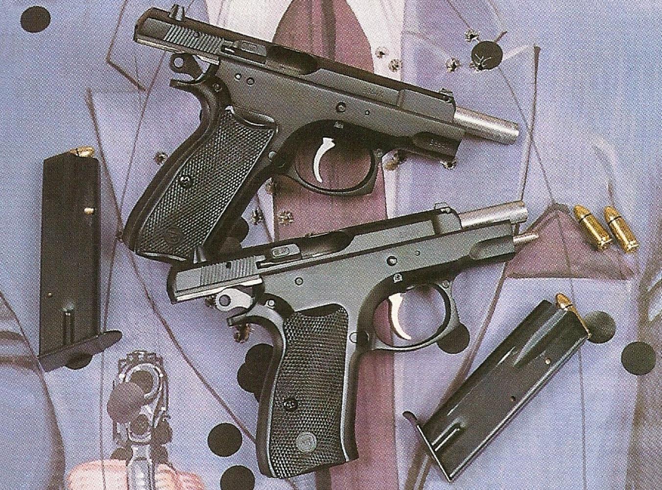 CZ-75 Compact Vs CZ-75 BD côté droit_petite