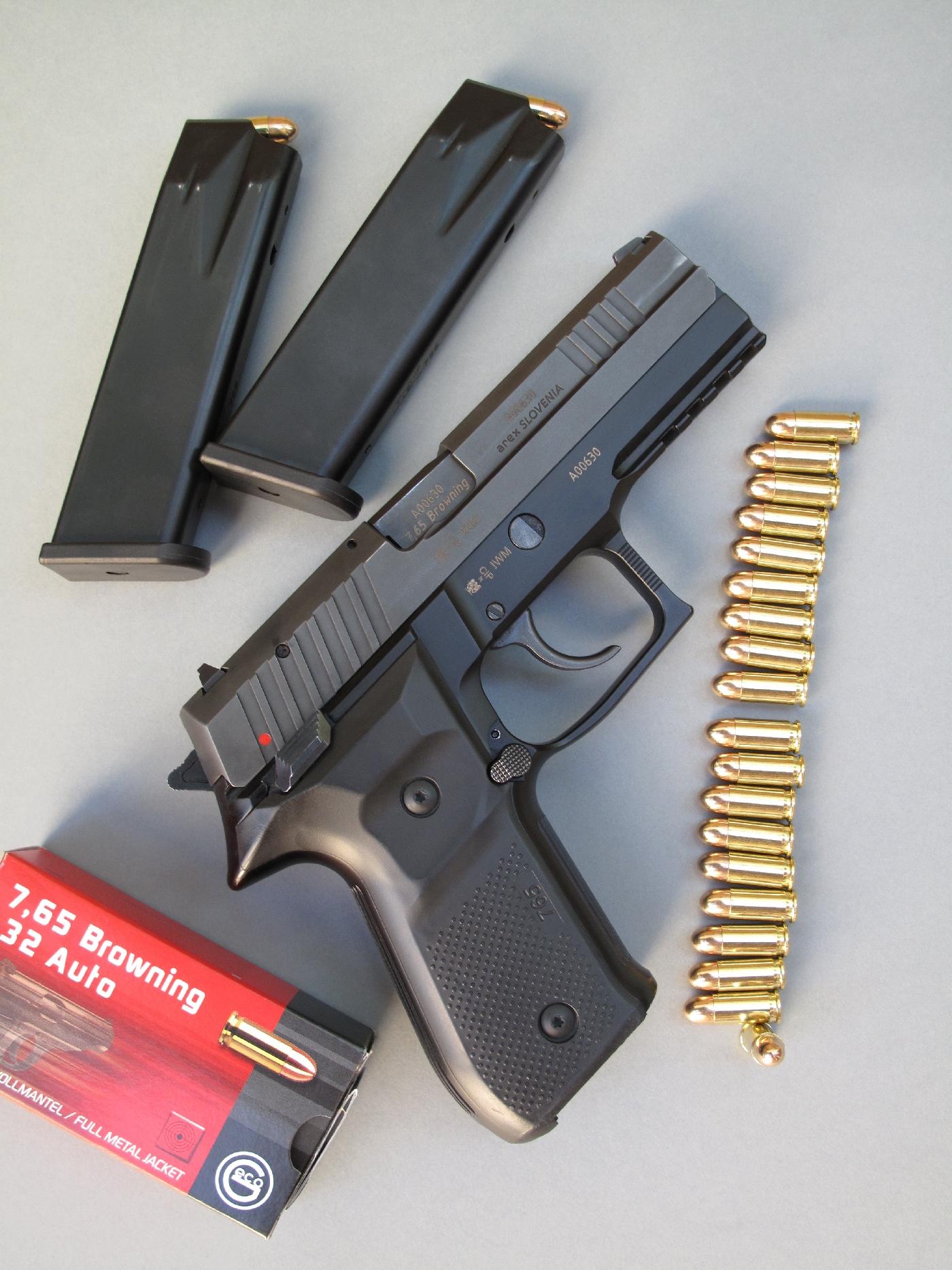 essai armes pistolet arex rex 765 s calibre 7 65 mm browning