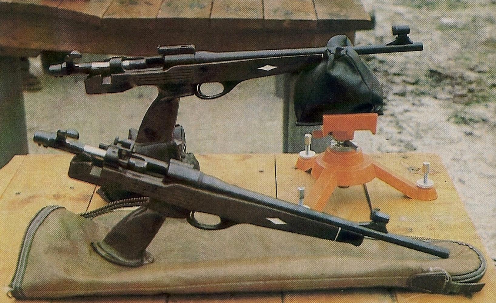 Le Remington XP 100 chambré en calibre 7 mm IHMSA est le pistolet le plus précis à 200 m que nous ayons essayé dans le cadre du tir sur silhouettes métalliques.