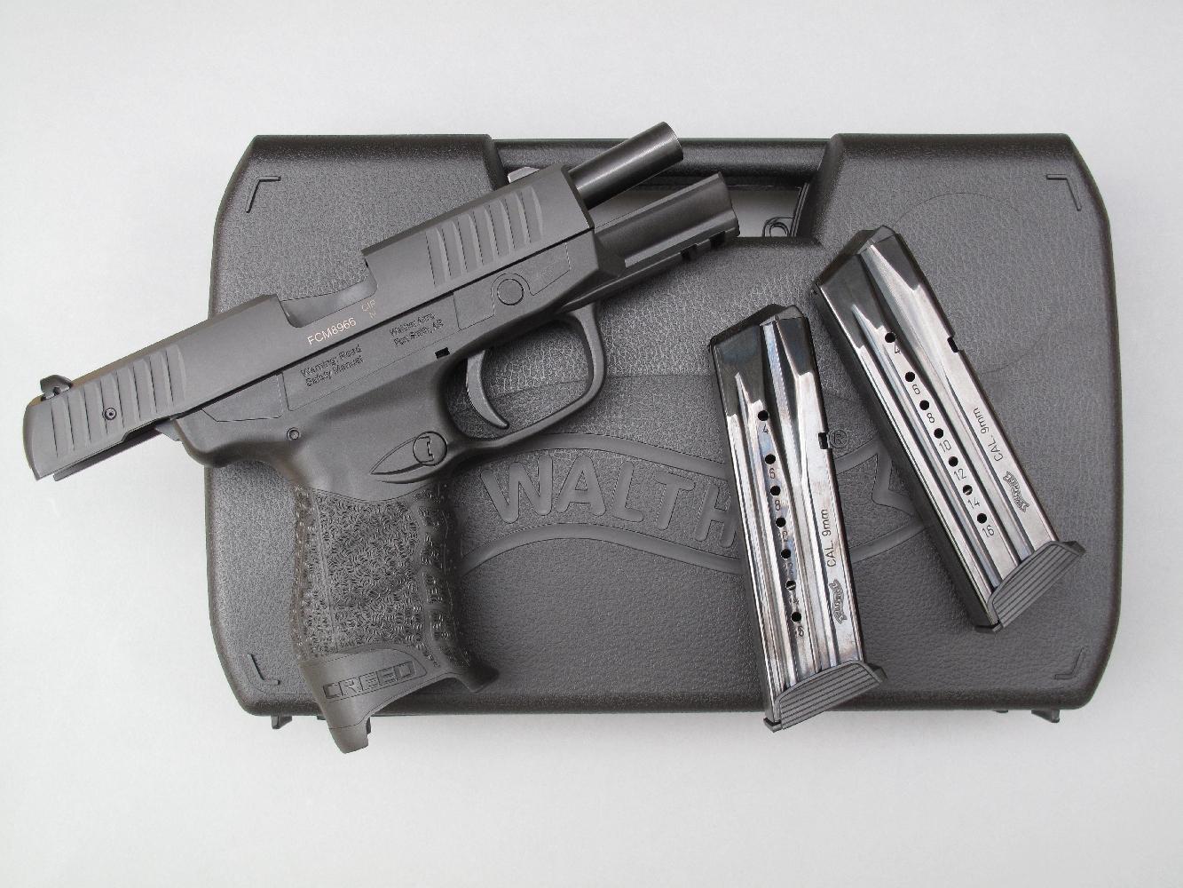 essai armes pistolet walther mod le creed calibre. Black Bedroom Furniture Sets. Home Design Ideas
