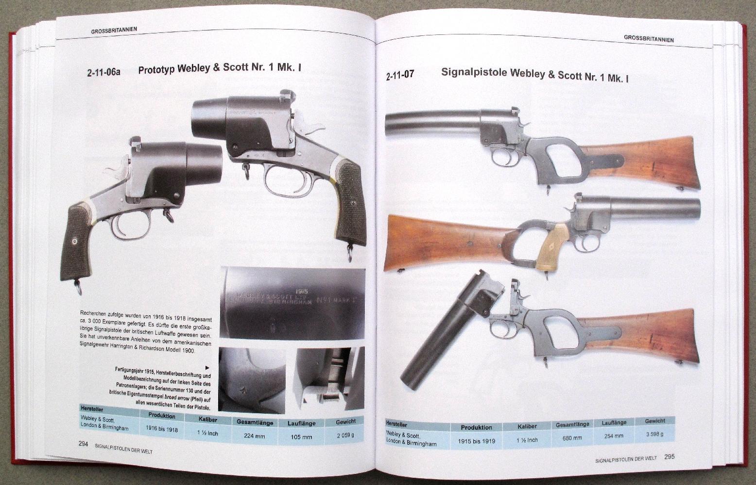 Successivement décliné en version pistolet et carabine, le « N°1 Mk I » est le premier lance-fusées de gros calibre adopté par l'aviation anglaise au cours de la Première Guerre mondiale.